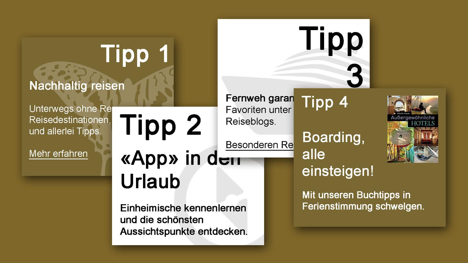 IN KÜRZE – Tipps zum Thema Tourismus / Reisen