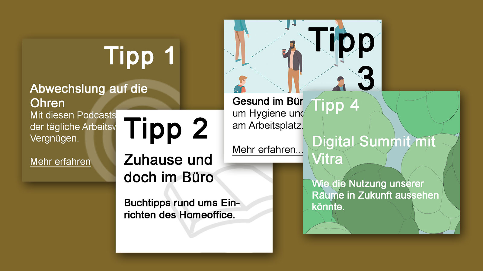 IN KÜRZE – Tipps zum Thema Back to office
