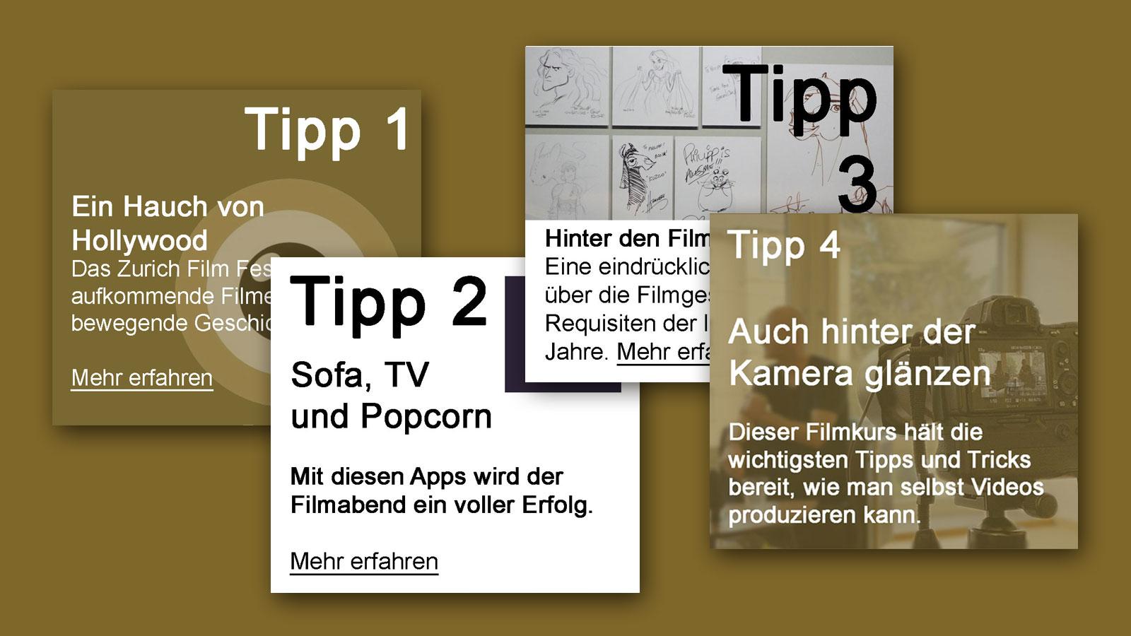 IN KÜRZE – Tipps zum Thema Film