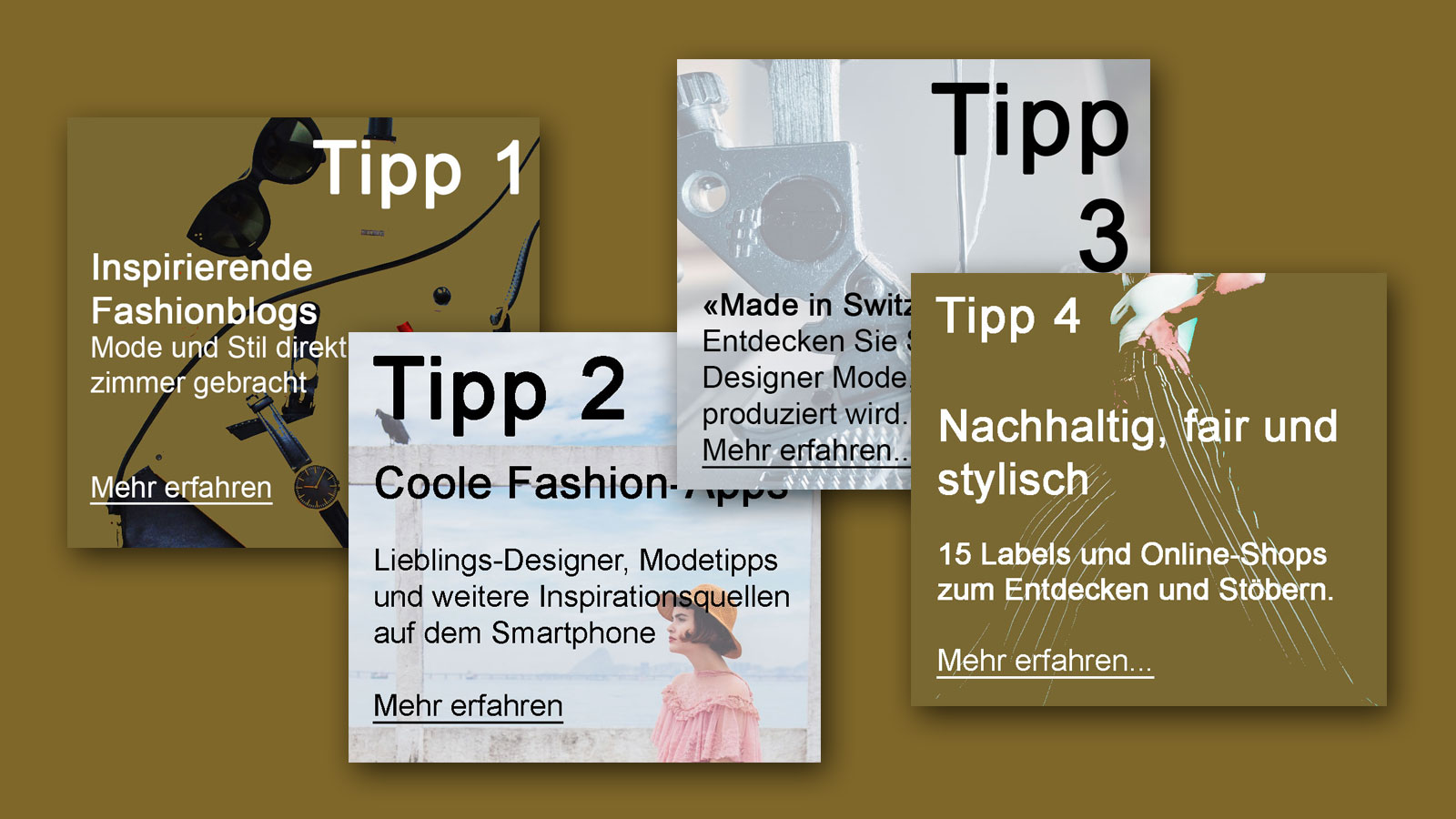 IN KÜRZE – Tipps zum Thema Fashion